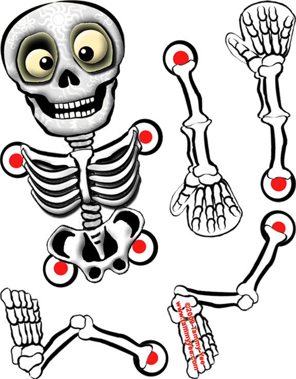Unforgettable image pertaining to skeleton cut out printable